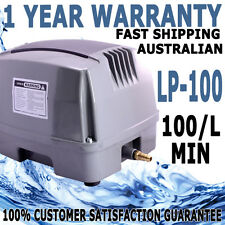 Hailea Aquarium Fish Tank Pond Septic Oxygen Air Pump HAP-100 L/M 1 YR WARRANTY