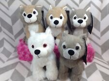 HBO Game of Thrones Direwolf Cubs Ghost Grey Wind Summer Nymeria Lady Set Of 5