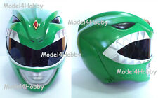 "Cosplay! Mighty Morphin Power Rangers ""GREEN Ranger"" 1/1 Scale Helmet TV Props"