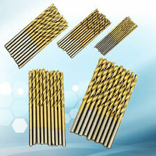 1/1.5/2/2.5/3mm 50 Pcs Titanium Coated HSS High Speed Steel Drill Bit Set Tool