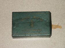 RARE Vintage Cigar Box ADAMS HOUSE LILIPUTIANS Boston w/ IRS 1909 Stamp