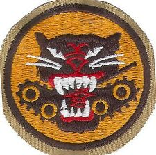 US ARMY WWII TANK DESTROYER FORCES UNIT PATCH (REPRODUCTION)