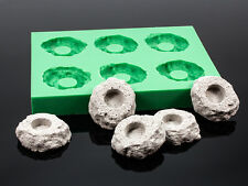 Silikon Gießform für Korallen Ablegersteine - Ablegersteine selbst gießen!