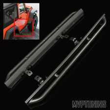 07-15 Wrangler JK 2DR Matte Black Rock Crawling Guard Slider/Side Step Nerf Bar