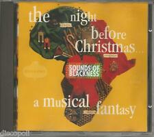 SOUNDS OF BLACKNESS - The night before Christmas - CD 1992 MINT CONDITION