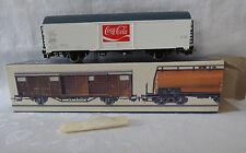 """Piko/ DDR Spur H0 1/87 -   Kühlwagen """"Coca Cola"""" 2 achs. in einer Box"""
