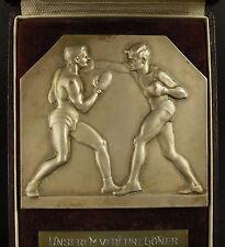 Médaille Autriche Wien 1922 Boxe boxing Jean Douard Boxclub Schwaz Vienne Medal