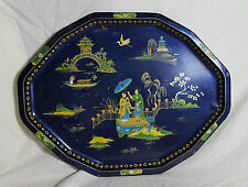 Beautiful Vintage Tin Tray by Daher Decorative Ware (Length - 45 cm)