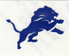 REFLECTIVE Detroit lions fire helmet motorcycle hard hat decal sticker yeti
