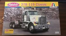 Italeri #3894 - Peterbilt 378-119 Classic kit. 1/24th scale. Dump truck