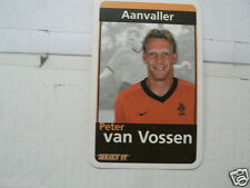 PETER VAN VOSSEN 2000 ? ORANJE VOETBAL, GAME PLAYING CARD ONE CARD ONLY