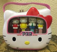 Sanrio Hello Kitty Limited Edition Pez Metal Lunch Box Set 40th Anniversary