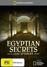 EGYPTIAN SECRETS OF THE AFTERLIFE National Geographic DVD R4 Sealed