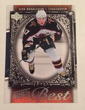 2007-08 Upper Deck ILYA KOVALCHUK Nhl's Best #B12 Hockey Card Nr/Mt-Mt