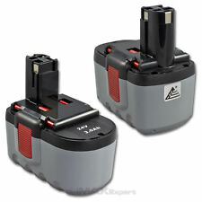 2 x 24V Extended 3.0AH Ni-Mh Battery for Bosch BAT030 BAT031 BAT240 BAT299