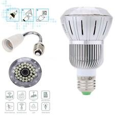 HD 1080P Wifi LED Bulb Hidden Camera Home Safety Smartphones Tablet PC H.264 HM