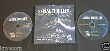 SERIAL THRILLER [ID CHANNEL SHOW] 2015 PROMO DVD/CD-ROM SET