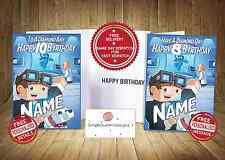 Dan Tdm -In The Lab -Minecraft Personalised  Birthday-Card -FAST DELIVERY