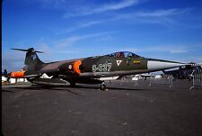 Original colour slide F-104G Starfighter 63-7037/9-037 of 192 Filo Turkish AF