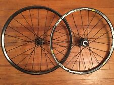 "Mavic Crossmax XL Black Tubeless Disc Brake QR 9mm 135mm 26"" Wheelset"