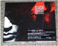 GUNS N ROSES Slash SEALED Japan PROMO solo CD in digipack SAHARA Fergie CYPRESS