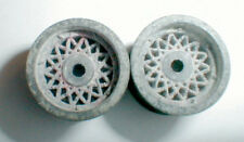 Vintage 1960's Original Chaparral REAR Threaded Wheels 1Pair COX #14034 1/24 NOS