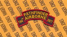 US Army 164th Pathfinder Airborne Detachment Infantry Aviation scroll patch