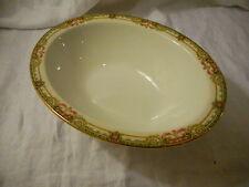 """Vintage Oval Vegetable Serving Bowl (10""""), Union Ceramique, Limoges France Roses"""