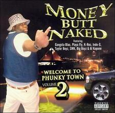 Welcome to Phunky Town, Vol. 2 Money Butt Naked Sealed CD 2002 Big O' Pimp