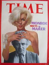MARILYN MONROE MEETS NORMAN MAILER July 16, 1973 TIME Magazine