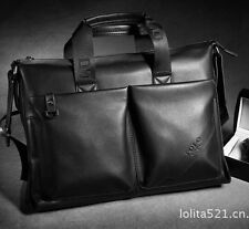 016 Men business Genuine Leather Laptop Handbag Briefcase Shoulder Messenger Bag
