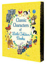 NEW Classic Characters of Little Golden Books By Various Free Shipping