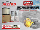 Filter Service Kit Ford LASER LXI R 99-02 Oil Z79A /Z429 Air A1289 Fuel Z647