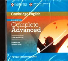 Cambridge COMPLETE ADVANCED 2nd Ed CLASS AUDIO CDs for Exam from 2015 I Hart NEW