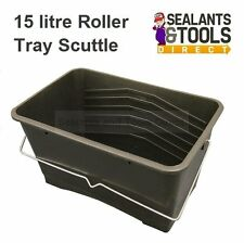 Faithfull 15 Litre Paint Roller Tray Scuttle Bucket Ladder