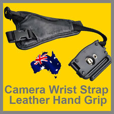 Genuine Leather Camera Wrist Strap Hand Grip for DSLR SLR Canon Nikon OZ stock