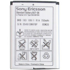 OEM NEW Sony Ericsson K310 K320 Replacement Standard Battery Original RETAIL