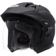 Bell Mag-9 Sena Solid Matte Black Helmet Large NEW