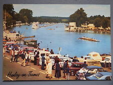 R&L Postcard: Henley on Thames, Rowing, 1970's Classic Cars, J Salmon