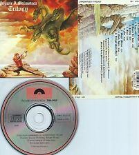 YNGWIE J. MALMSTEEN-TRILOGY-1986-USA-POLYDOR RECORDS 831 073-2-CD-NEW-