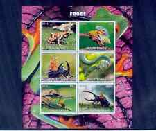 mauritania / 2016 animal series-frogs /mnh.good condition