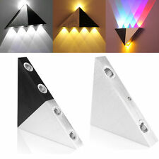 Aluminum 3W LED Wall Light Lamp Bedroom Wall Sconce Lamp Fixture Multicolor