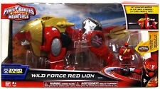 Power Rangers Super Megaforce Deluxe Dx Wild Force Rojo Lion Zord Con Clave