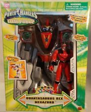 "Power Rangers Time Force 10"" Quantasaurus Rex Megazord & Quantum Ranger (MISB)"