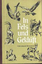 Kocher, In Fels und Geklüft, Tiere deutsche Hochgebirge, Steinbock Gemse & Co.