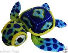 *NEW* MINI BLUE SEA TURTLE CREATURE SOFT PLUSH STUFFED TOYS 15cm