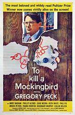 TO KILL A MOCKINGBIRD (1962) One sheet poster original folded cond., no tears NF