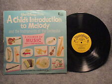 33 RPM LP Record Walt Disney A Childs Introduction To Melody Disneyland DQ-1232