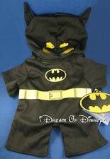 NEW BATMAN CAPED CRUSADER COSTUME BUILD-A-BEAR TEDDY SIZE CLOTHES OUTFIT