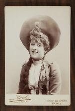 Biana Duhamel, Actrice de théâtre et Chanteuse d'opérette, Photo Cabinet card